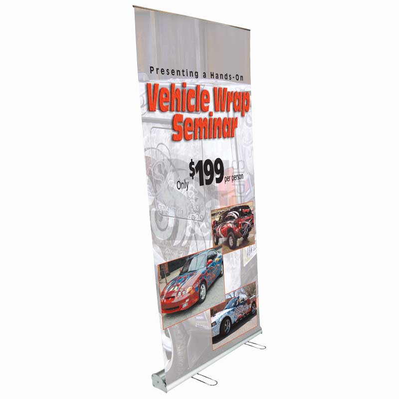 Block Out Film Banner New York Print A Sign