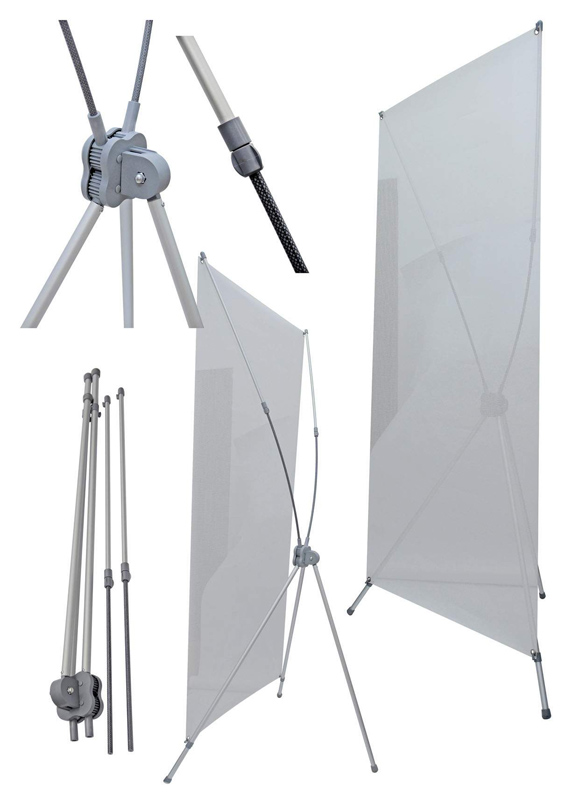 X Banner Stand New York Print A Sign